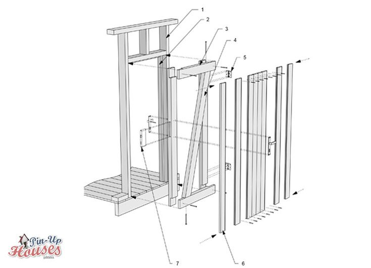 How to frame door, step by step construction guide How to build a tiny house
