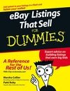 eBay Listings That Sell For Dummies:Book Information and Code Download - For Dummies