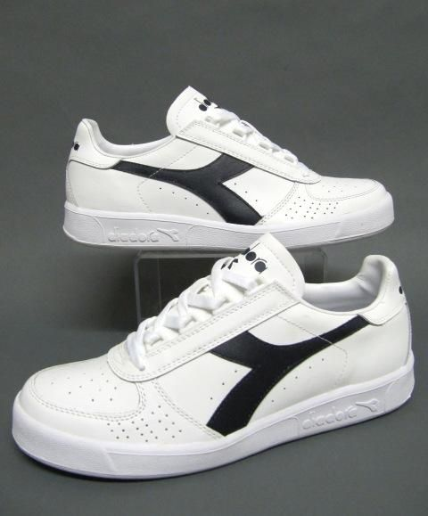 vintage diadora 1980s elite trainer sneaker