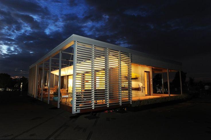 """La migliore """"casa solare"""" del Nord America è Su+Re House dello Stevens Institute of Technology, nella gara che ha visto l'Italia trionfare nel 2014"""
