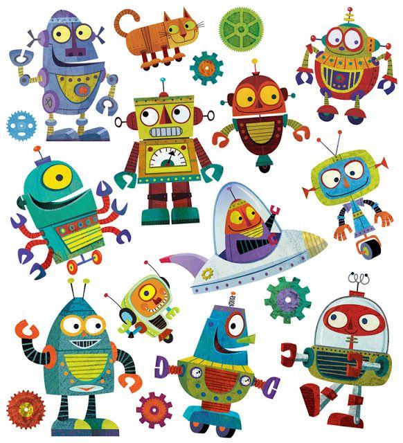 robots by michael robertson