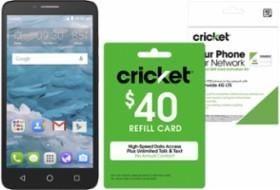 Buy a Cricket Phone or SIM Kit Get a Cricket Refill Card for 20% Off refill cards (refill cards are already 10%...