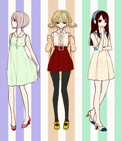 900 Best Images About Anime Girl Fashion On Pinterest