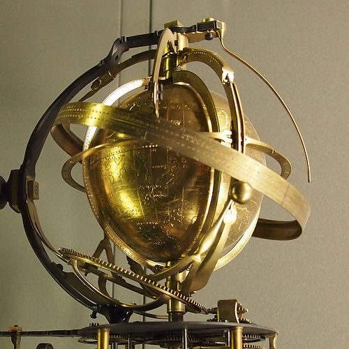 Armillary Sphere -  | Flickr - Photo Sharing!   Musee des Arts et Metiers.  Paris, France.   Photo by Francisco Gonzalez