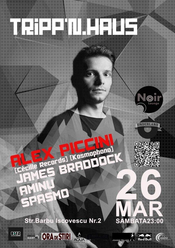 26 Martie 2016, Underland te invită la un party alături de un nume foarte cunoscut industriei underground: ALEX PICCINI - artist Italian născut la Veneția.