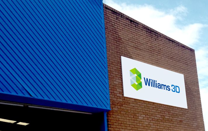 Williams 3D Building signage