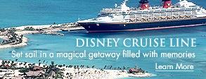Disney Cruise Line honeymoon would be cool