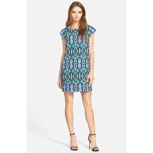 Sam Edelman Illusion Panel Shift Dress