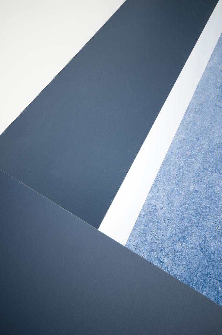 Sundhedshus Pandrup – Friis & Moltke design A/S – arkitekt MAA Mikkel Bahr – inventar - #overflade – #Desktop  – #Furniture Linoleum – #Forbo – #interior – #interiordesign