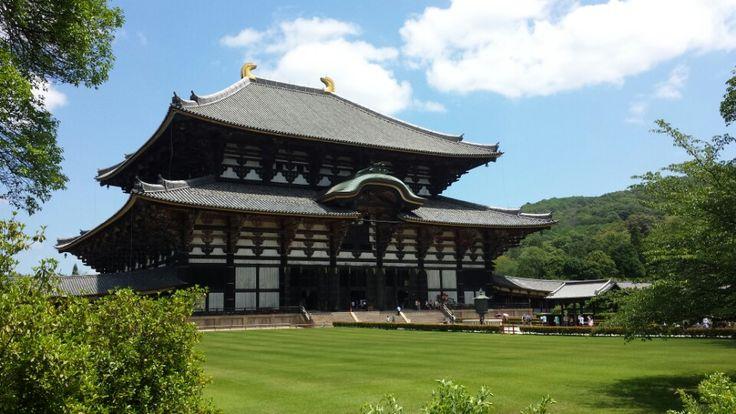 東大寺 (Todai-ji Temple) in Nara, 奈良県