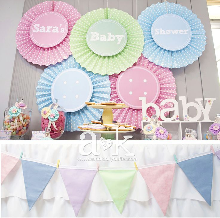 http://aandklollybuffet.com/2013/12/28/pastel-cute-as-a-button-baby-shower-dessert-buffet/