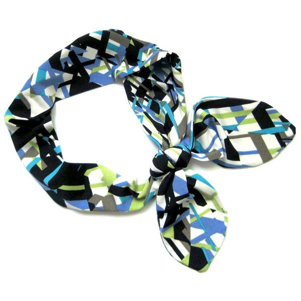 Head Wrap Headband, Dolly Bow Headband, Bandana Headband, Hair... (59 AED) ❤ liked on Polyvore featuring accessories, hair accessories, ponytail hair ties, bow hairband, head wrap hair accessories, wire bow headbands and stretchy headbands