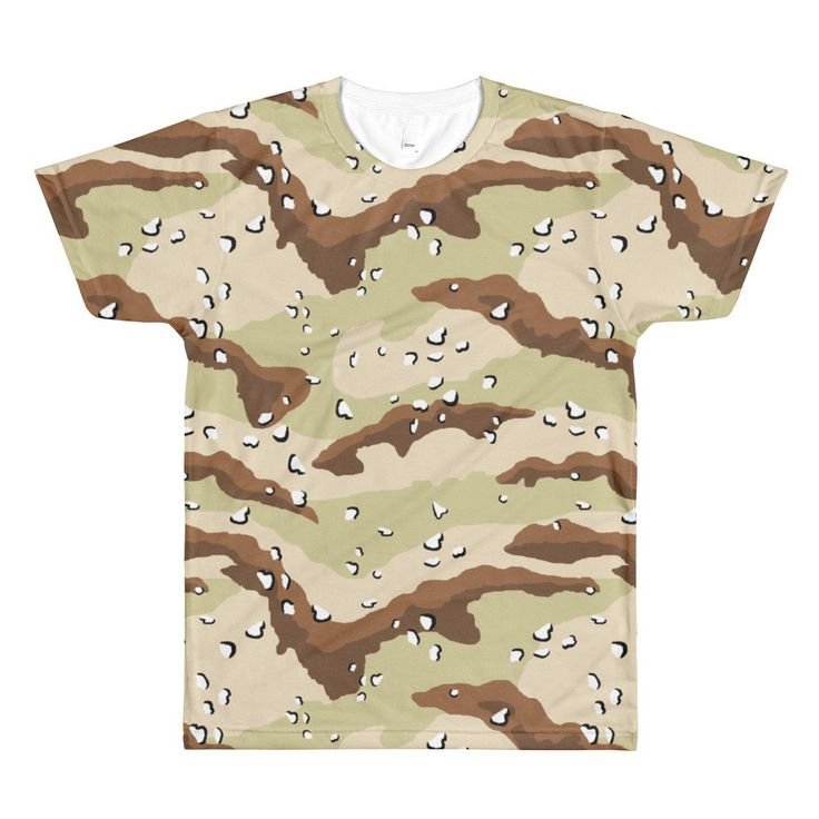 American Chocolate Chip Desert CAMO T-Shirt
