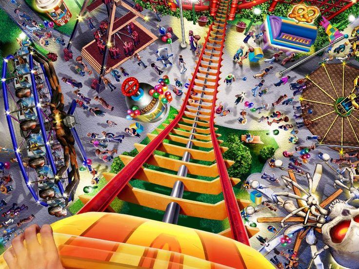 OMG OMG OMG OMG *Gritaaaaa* – Roller Coaster Tycoon World é anunciado para o próximo ano