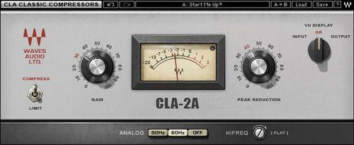 Waves: CLA Classic Compressors | ZioMusic.it