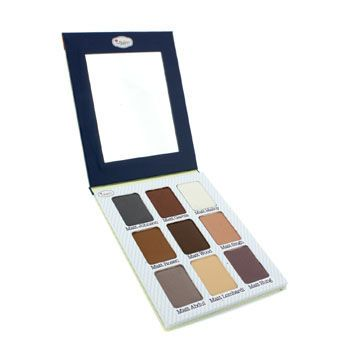 A long-lasting eye shadow palette. Contains nine creamy, highly-pigmented shades . Works as eyeliners or all-over colors. Versatile enough to wear day & night. Gives a matte, nude finish. Features a handy size convenient for carrying around.