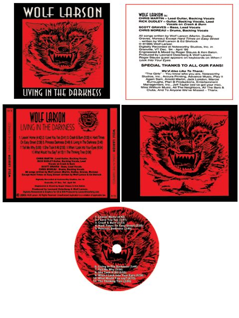 Full jewel case and cd layout