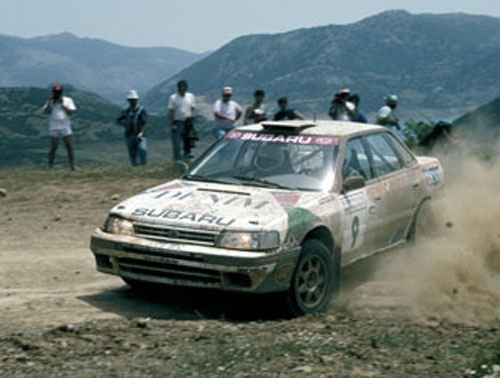 Subaru Legacy RS (GRA) - WRC (1992)