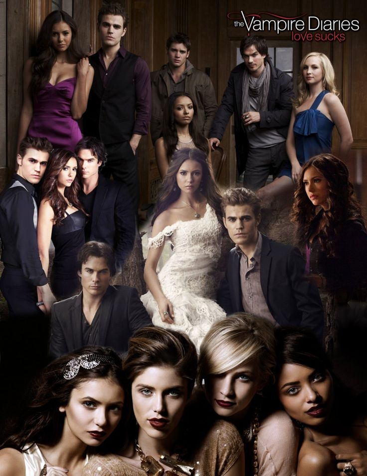 The Vampire Diaries Cast Blanket