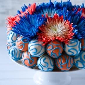 Yummy cake pop cake!  ~A