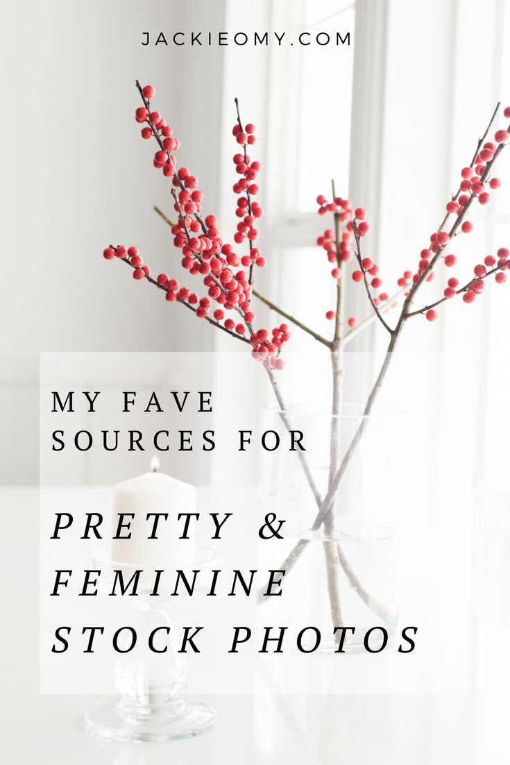 My Favorite Sources For Pretty Post Photos