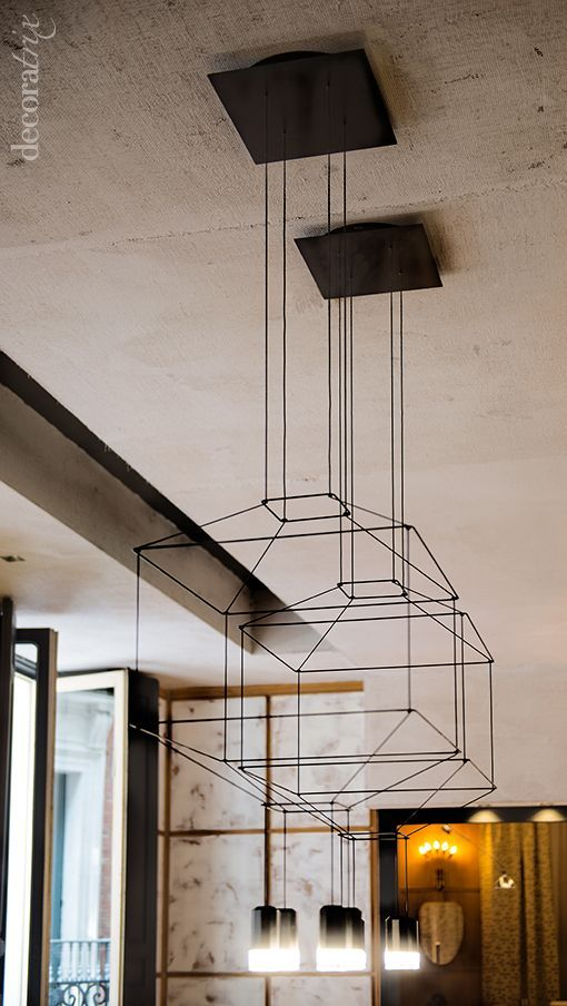 50+ Metal Frame Pendant L&shade That goes Perfectly with your Minimal Decor - The Architects. & 126 best lighting ideas images on Pinterest | Lighting design ... azcodes.com