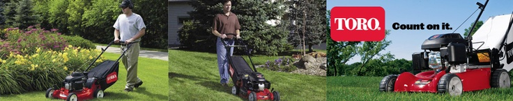 Lawn mowers to maintain your yard clean and green.