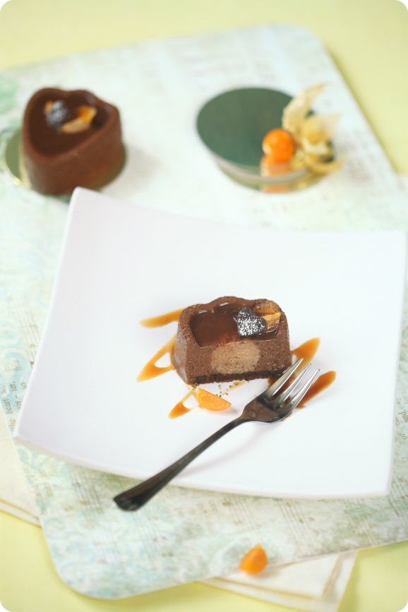 A receita em português está em baixo.     Шоколад, апельсин, фундук, пряности прекрасно вписываются в богатую осенне-зимнюю палитру де...