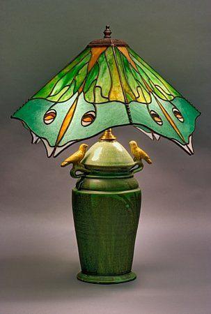 <3Luna Moth Lamp