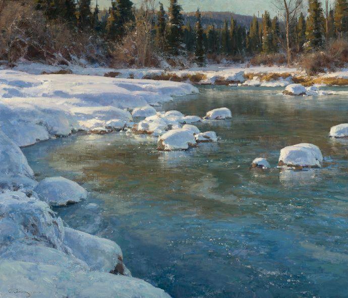 "Clyde Aspevig ""Winter Flow"""