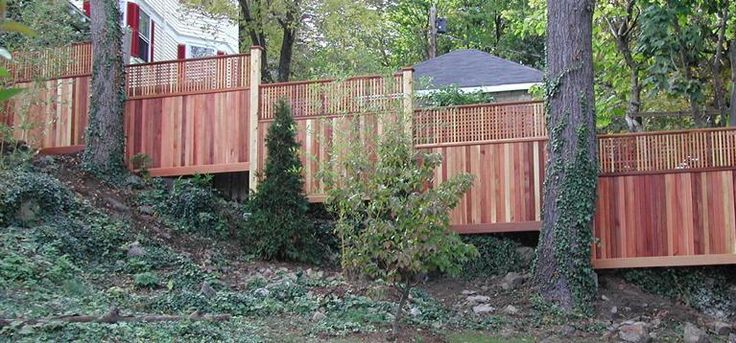 Outdoor Pallet Fence