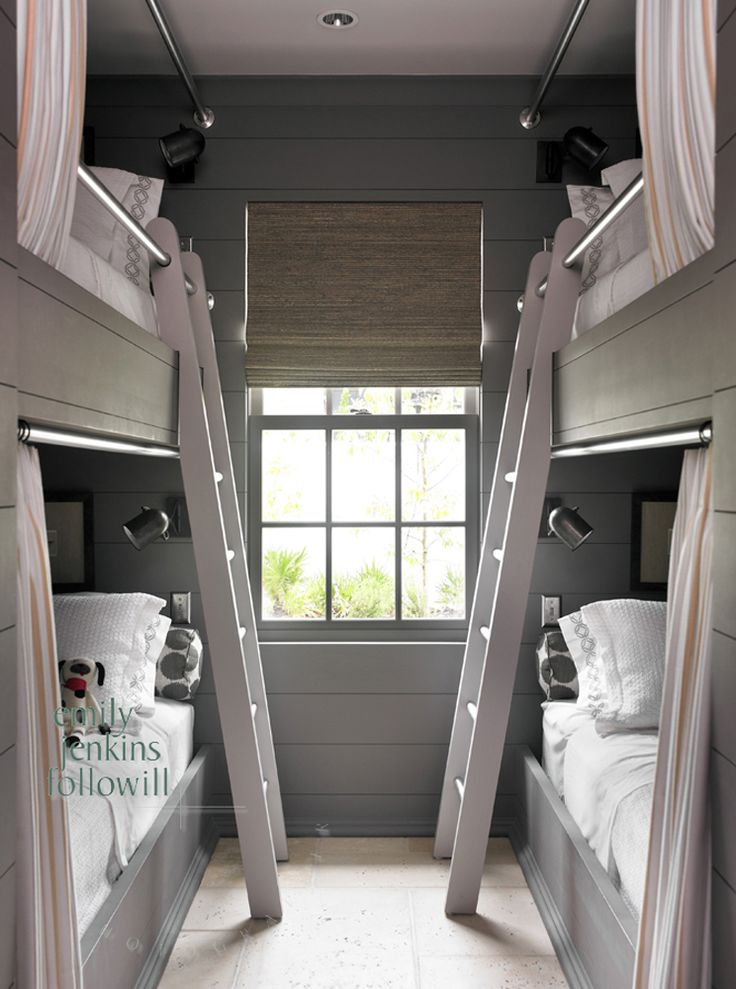 114 best cottages cabins bunkies small spaces with big for Bunkie interior designs