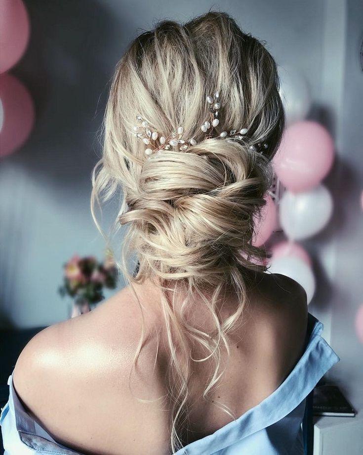 57 Wunderschöne Hochzeitsfrisuren für eine wunderschöne, rustikale Scheunenhochzeit