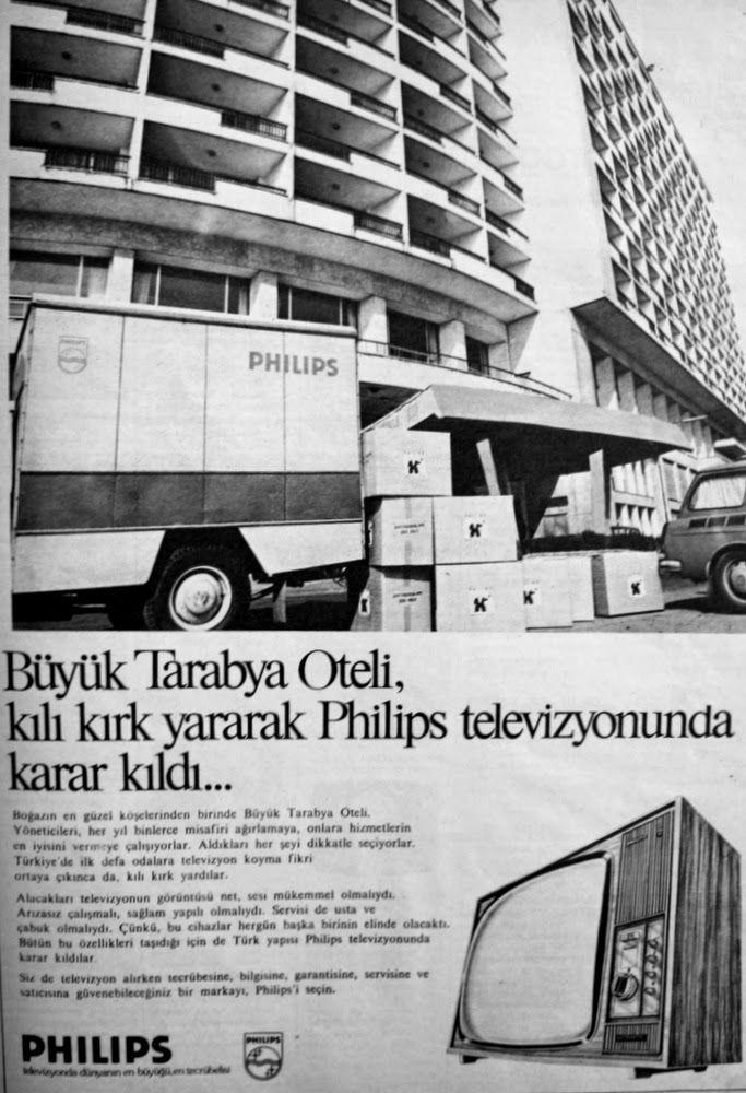 philips televizyon 1975 reklamı