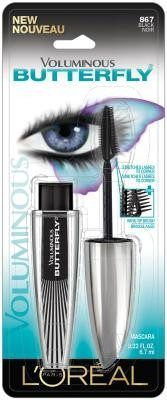 LOREAL VOLUMINOUS BUTTERFLY MASCARA WASHABLE BLACK