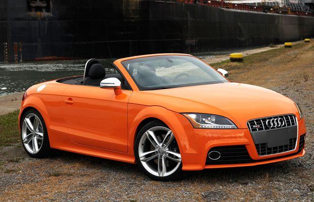 Audi Tts Convertible Orange Color Audi Convertible Audi