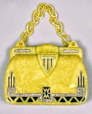 Art Deco Purse bag