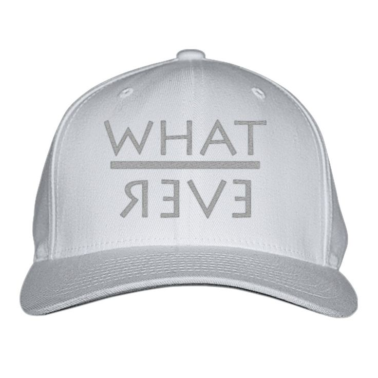 Whatever Embroidered Baseball Cap