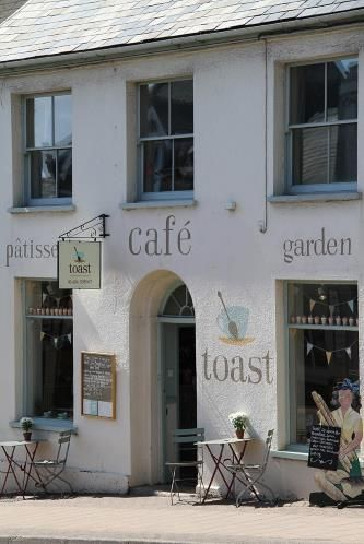 This is Toast in Honiton High Street - great place for a coffee and snack!