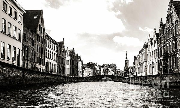 Beautiful Bruges Series by Lexa Harpell. Life on the Canal.