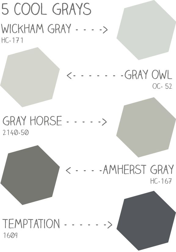 28 Paint Color Cool Gray
