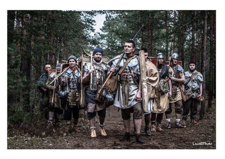 Legio XXI Rapax - roman army reenactment. Rekonstrukcja. Rzymski legion.
