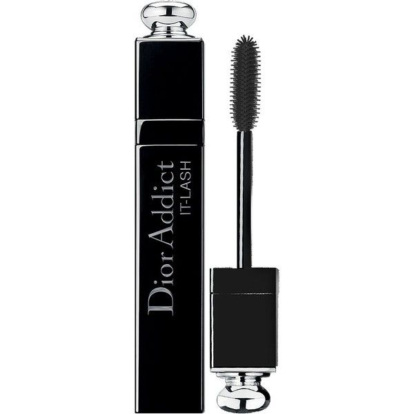 Dior Dior Addict It-Lash Mascara (520 MXN) ❤ liked on Polyvore featuring beauty products, makeup, eye makeup, mascara, beauty, filler, it black, christian dior mascara and christian dior