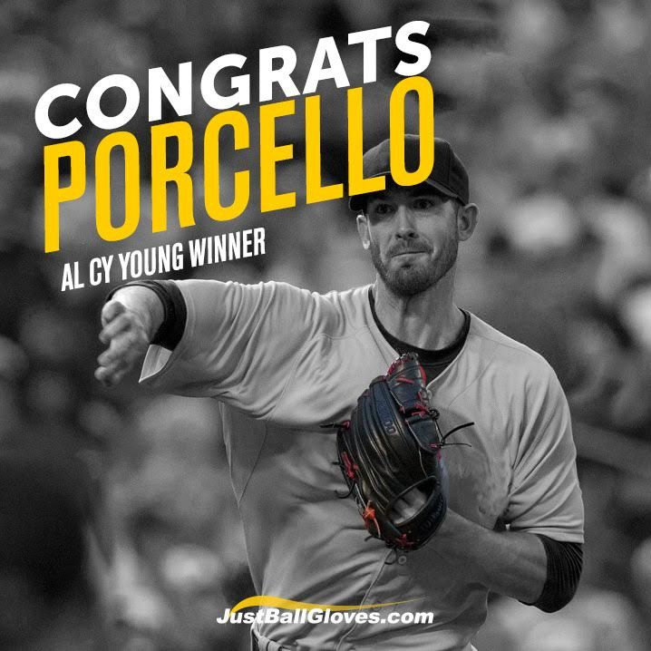 Congratulations to the 2016 AL Cy Young Winner, Rick Porcello!