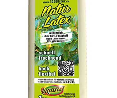 Latex liquide natur 1 Litre maquilleur lait latex 1000 ml.: 1 Litre de latex liquide. Naturel. Dans des bouteilles pratiques refermables.…