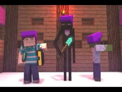 La Historia de Herobrine-Animacion de Minecraft - YouTube