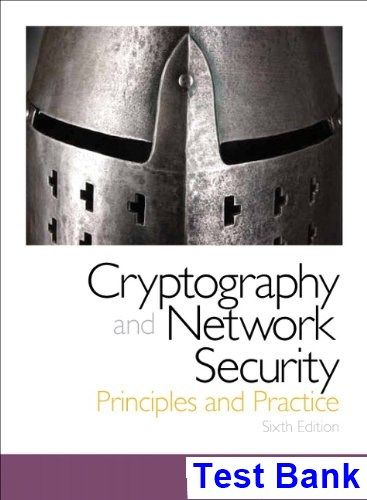 Cryptography and Network Security Principles and Practice 6th