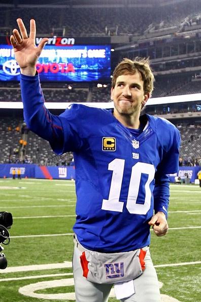 Eli Manning. Quarterback of NY Giants