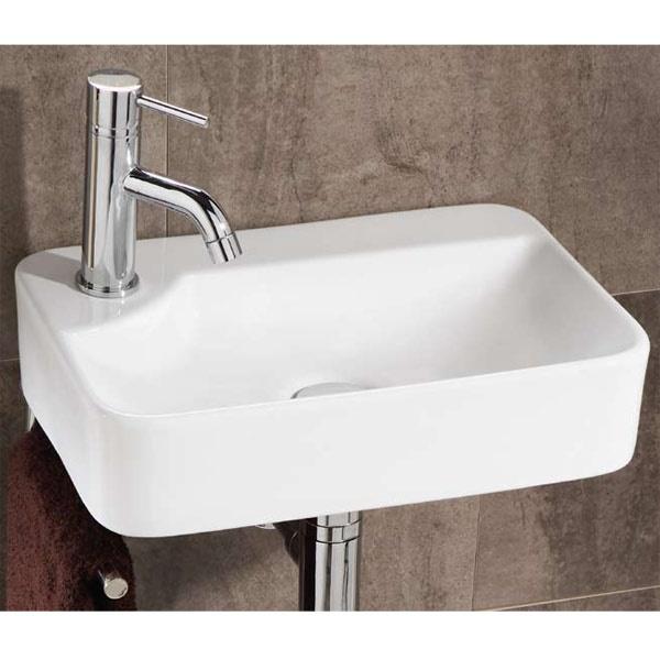 Lugo Cloakroom Basin, £133.95, BetterBathrooms.com