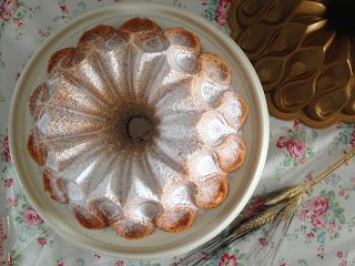 una chispa de dulzura: Bundt Cake de queso crema